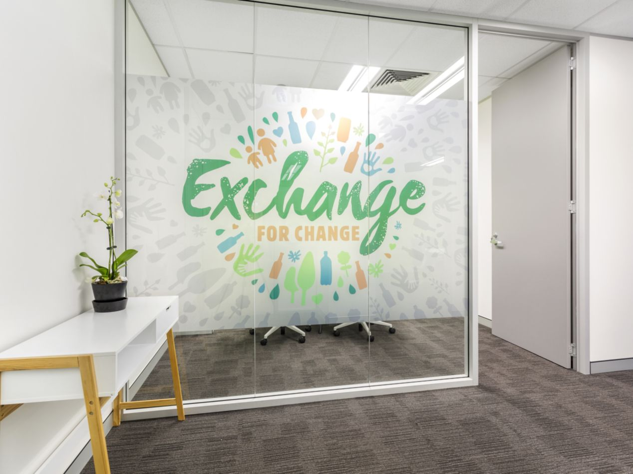 Exchange for Change 250m2